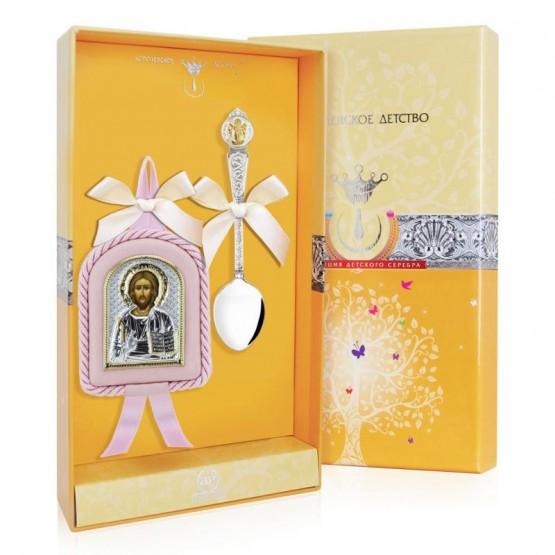Подарочный набор на крестины девочке
