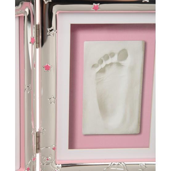 Набор для отпечатка ножки и фото