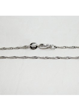 Серебряная цепочка сингапур