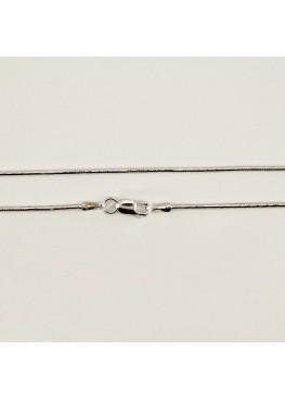 Серебряная цепочка снейк