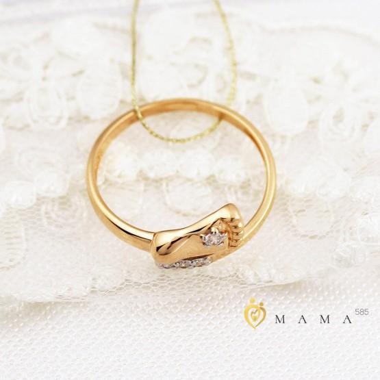 Золотое кольцо любимая пяточка